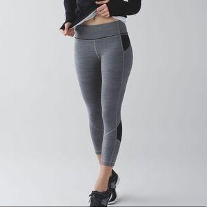 Lululemon Pace rival crop leggings luxtreme